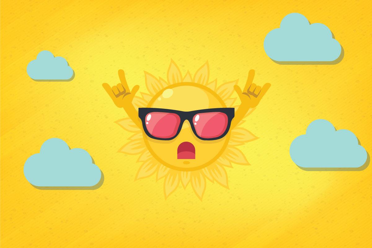 Protejați-vă ochii de soare! – Infografic